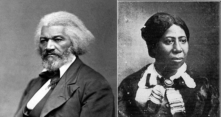 Frederick Douglass and His Wife Anna Murray-Douglass
