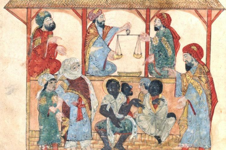 Slave Market in 13th Century Yemen