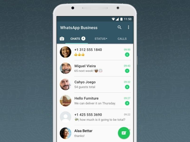 WhatsApp for Business' top features: Verified Profiles, Quick Replies, Greeting Messages, Away Messages