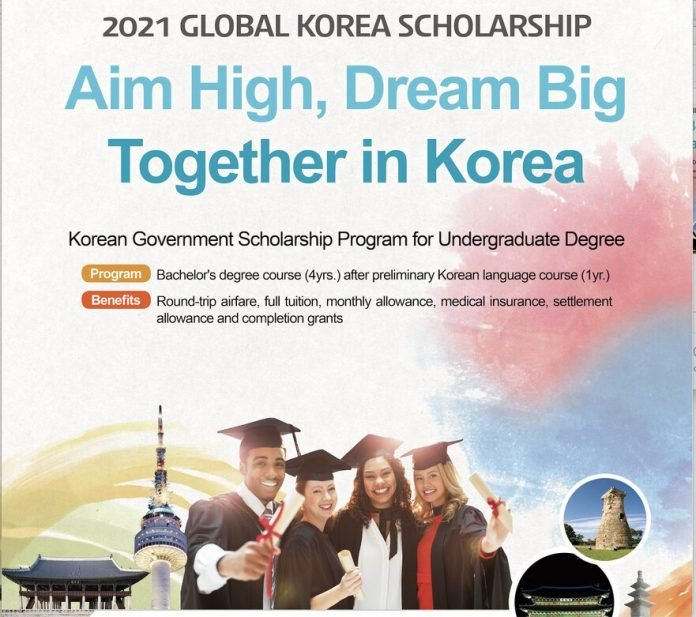 Korean Government Scholarship Program 2021 for ...