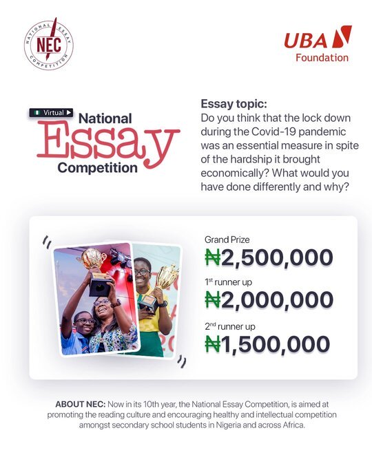 Scholarship Essay Writing Competition